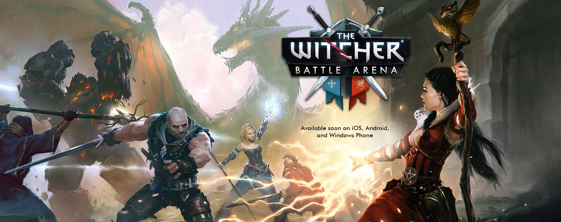 The Witcher Battle Arena za darmo na Androida oraz iOS. Można już pobierać