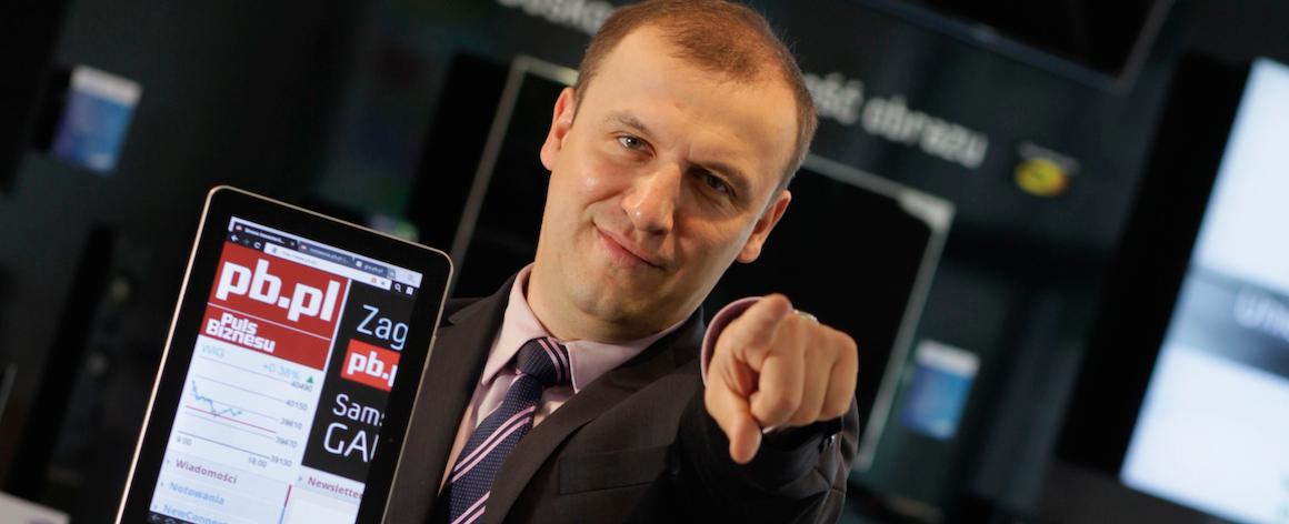 – Nie wykluczamy, że zamkniemy część treści Bankier.pl za paywallem – mówi Przemek Barankiewicz, redaktor naczelny Pb.pl