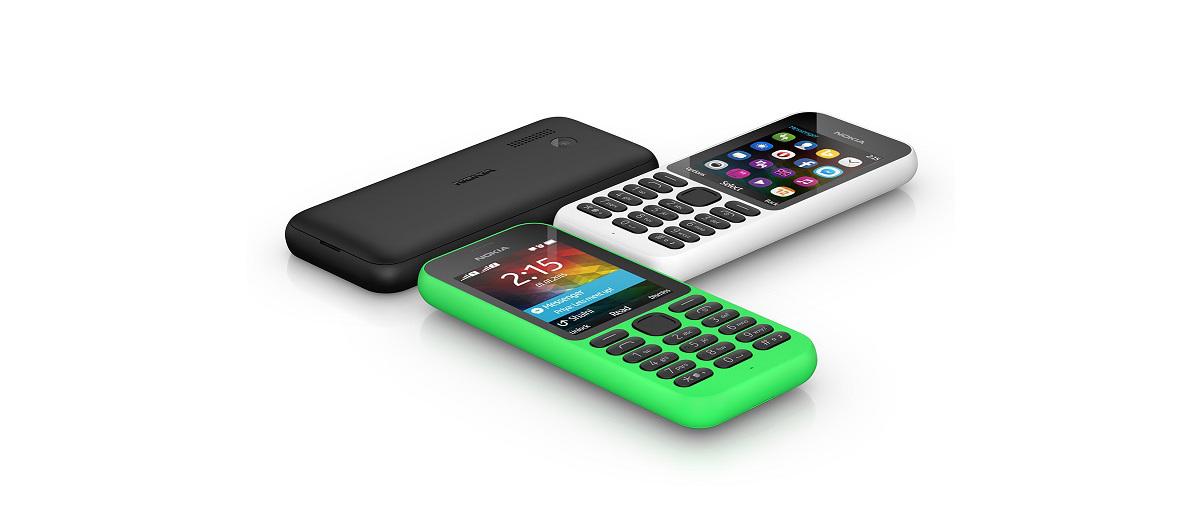 Nokia 215 od Microsoftu to najtańszy telefon do… Facebooka