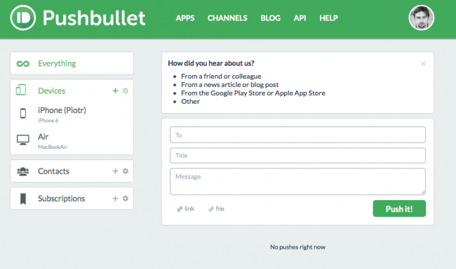 pushbullet-mac-os-x-ios-12