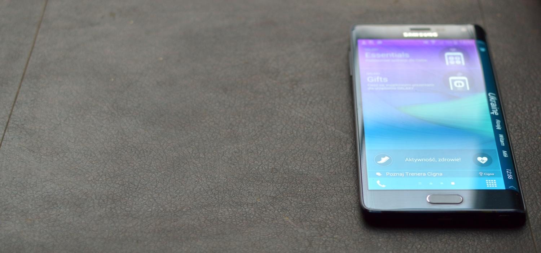 Samsung Galaxy Note Edge, czyli kiedy warto przeginać – recenzja Spider's Web