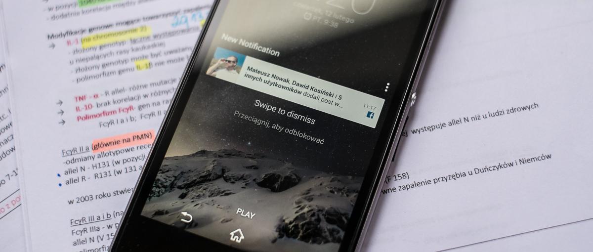 Przyjemna nowość w aplikacji Facebooka dla Androida. Teraz nie przegapisz żadnego powiadomienia
