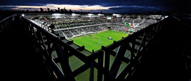 Legia Warszawa ma już inteligentny stadion.