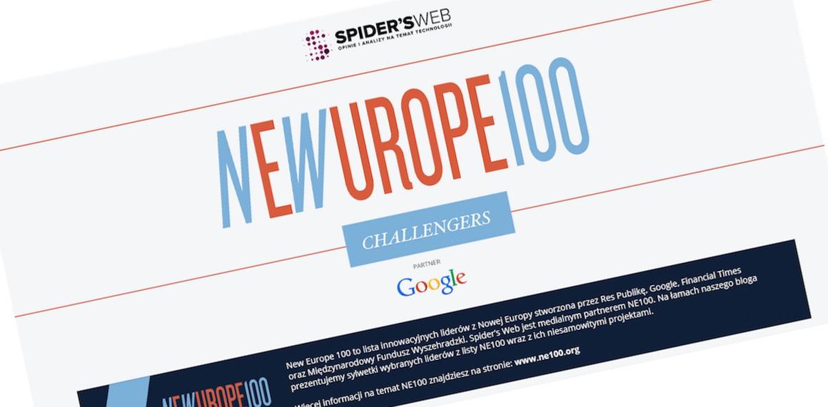 NE100 Challengers – rusza nowy cykl partnerski na Spider's Web we współpracy z Google Polska i Res Publiką