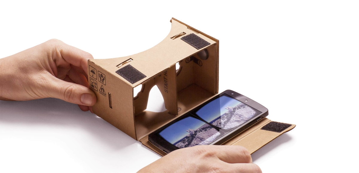Nowa, genialna aplikacja Aparat Cardboard to dobry powód, by kupić kartonowe okulary