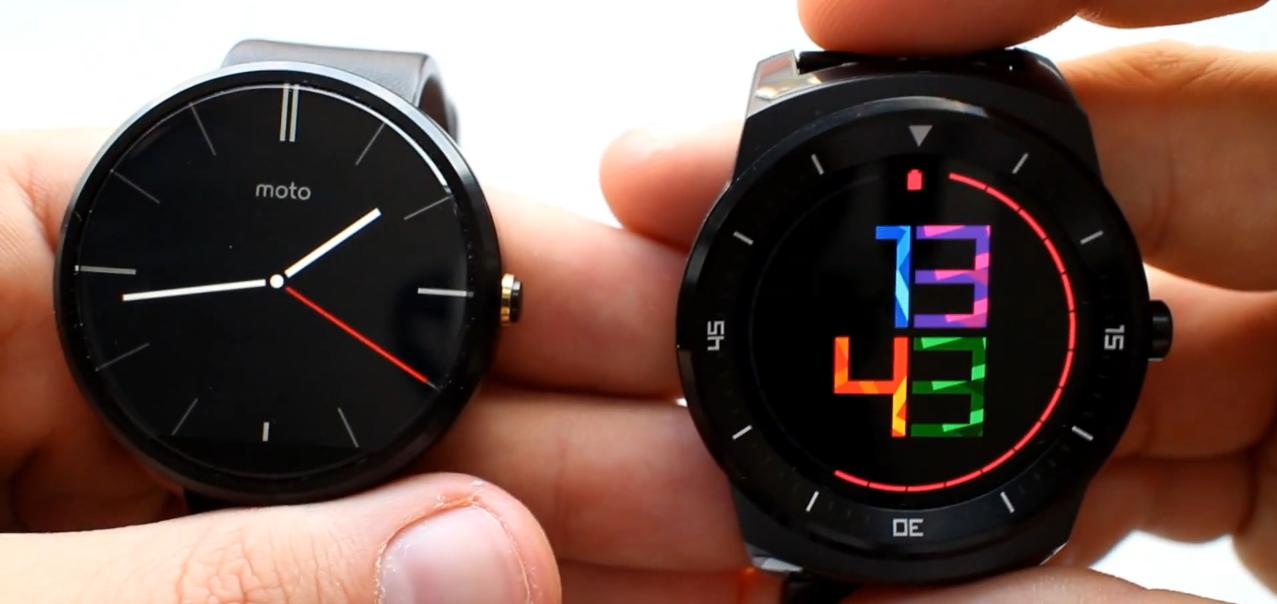 LG G Watch R kontra Motorola Moto 360 – który smart zegarek wybrać?