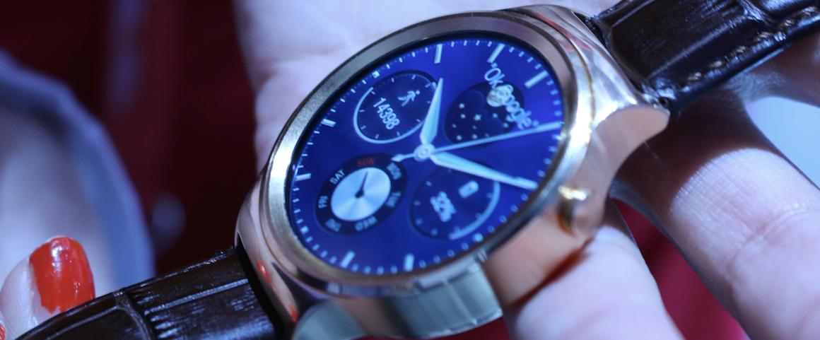 Czar zegarka obwołanego najlepszym smartwatchem z Android Wear pryska w momencie, gdy bierze się go do ręki. Huawei Watch – pierwsze wrażenia Spider's Web
