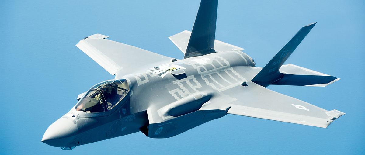 Krytyka F-35 to jedna, wielka, medialna nagonka