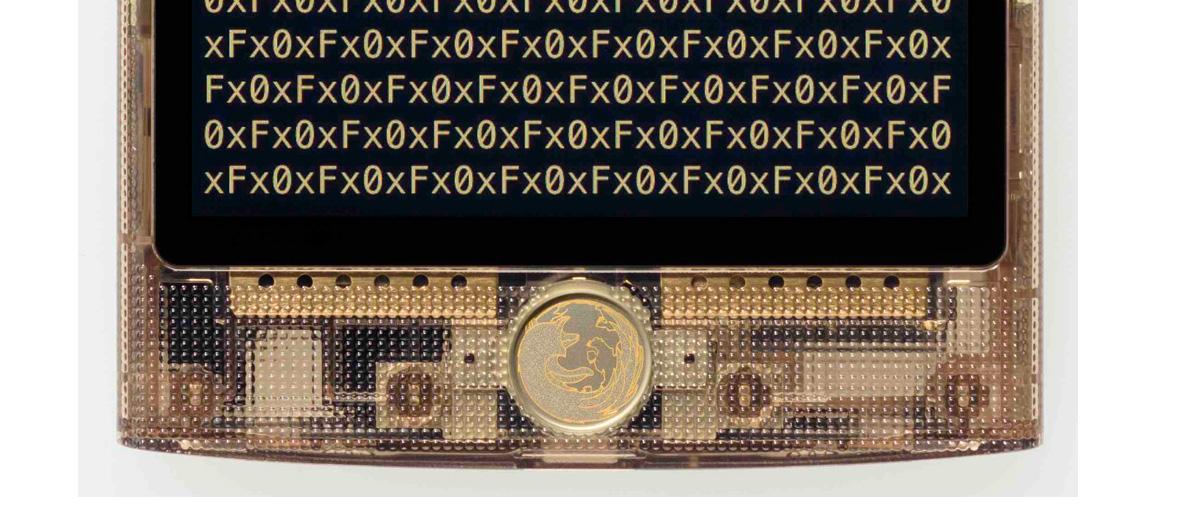 Krótka wizyta na stoisku Firefox OS, czyli sprawdzamy przezroczysty smartfon Fx0