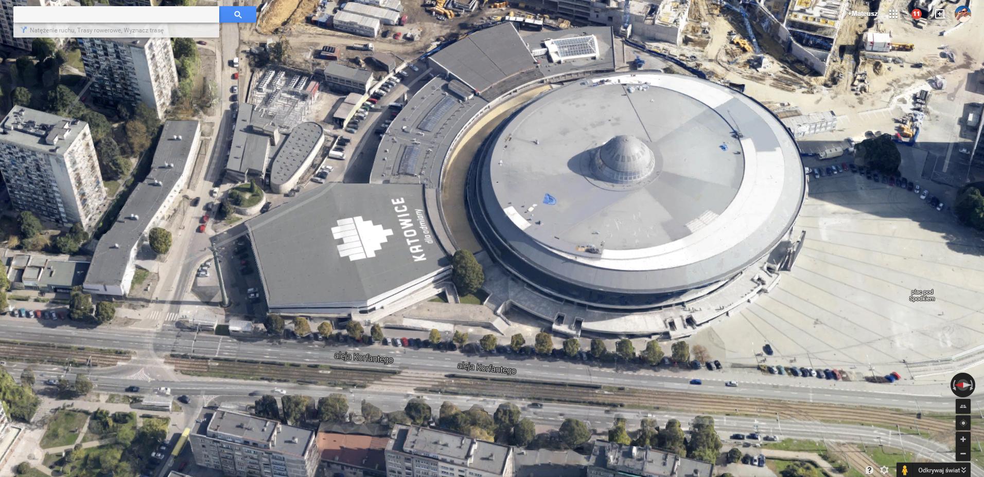 Pierwsza polska aglomeracja pojawiła się właśnie w Google Earth. Zobacz Śląsk z lotu ptaka