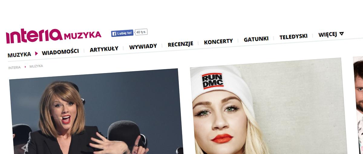 Nowa Interia Muzyka pokazuje, jak powinny wyglądać serwisy tematyczne polskich portali