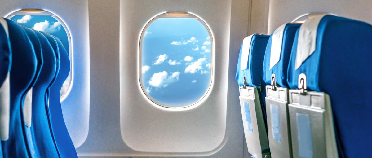 Pozdrawiam z samolotu, czyli wpis blogowy, który powstał 10 tys. m nad ziemią