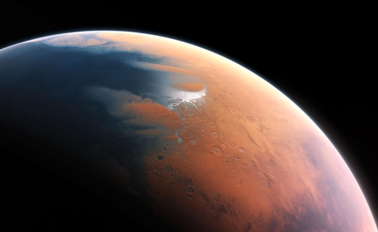 Gdzie właściwie podziała się woda z Marsa?