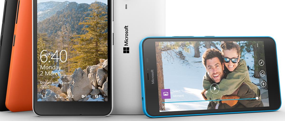 Microsoft ma dwie nowe Lumie, w tym jedną w rozmiarze XL