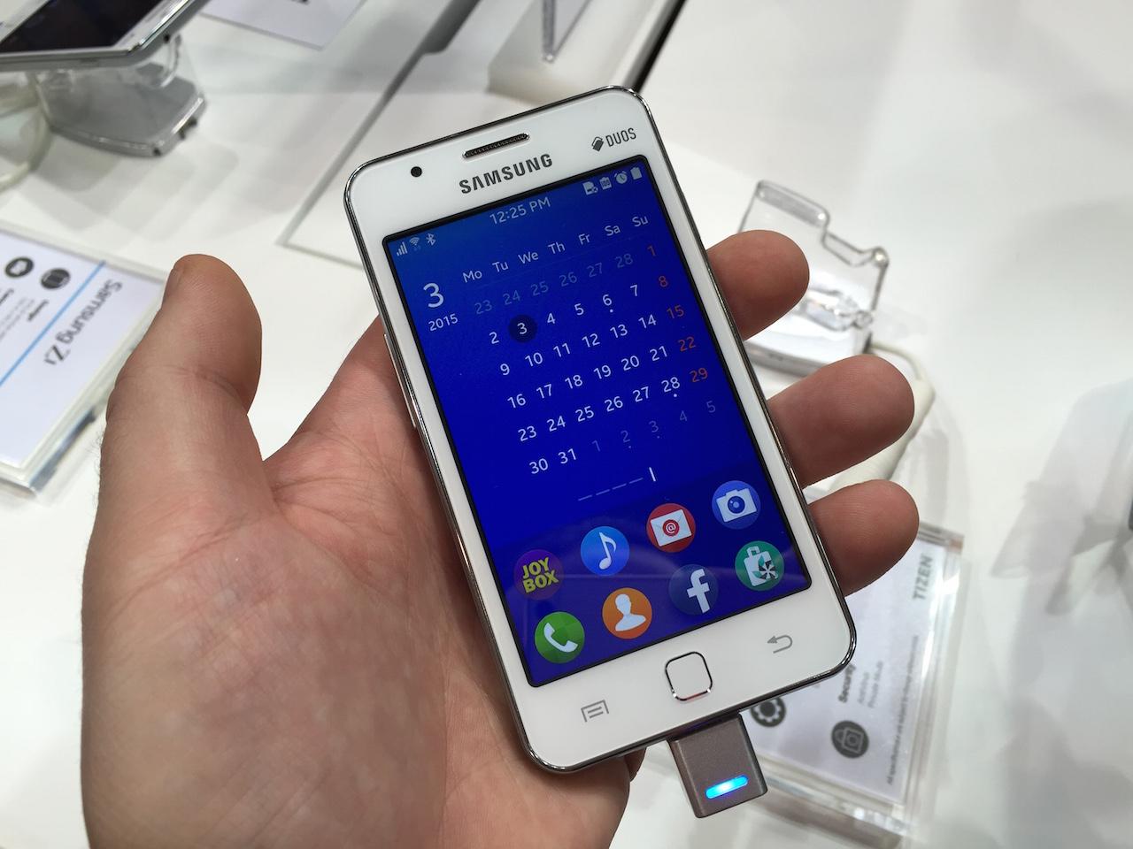 Samsung Z1 w praktyce, czyli jak wygląda system Tizen na smartfonie