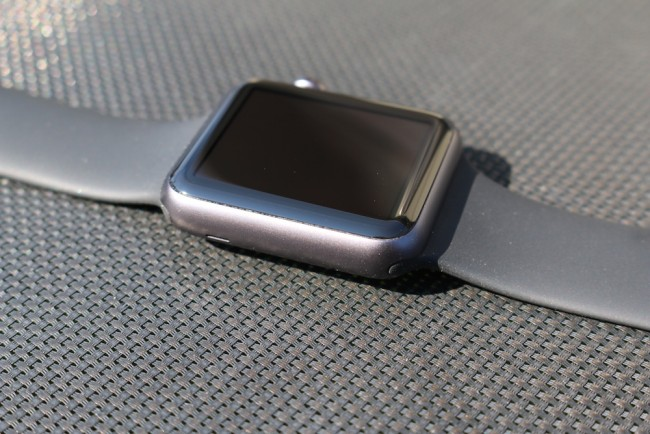 Apple Watch, space gray, 1