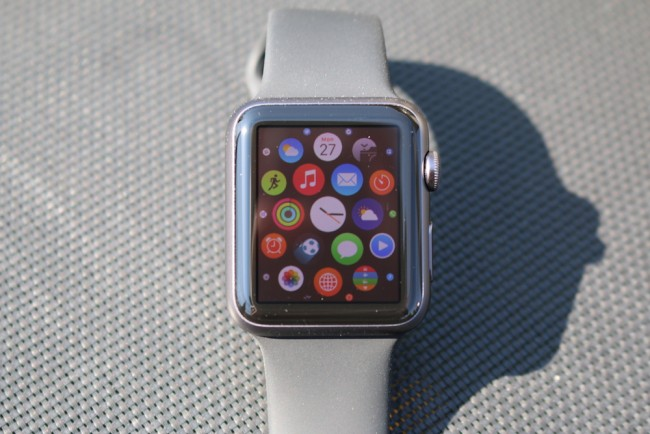 Apple Watch, space gray, 9