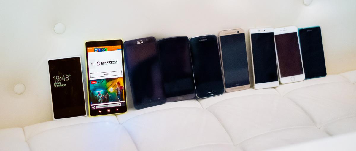 Wielkie fotograficzne porównanie smartfonów!