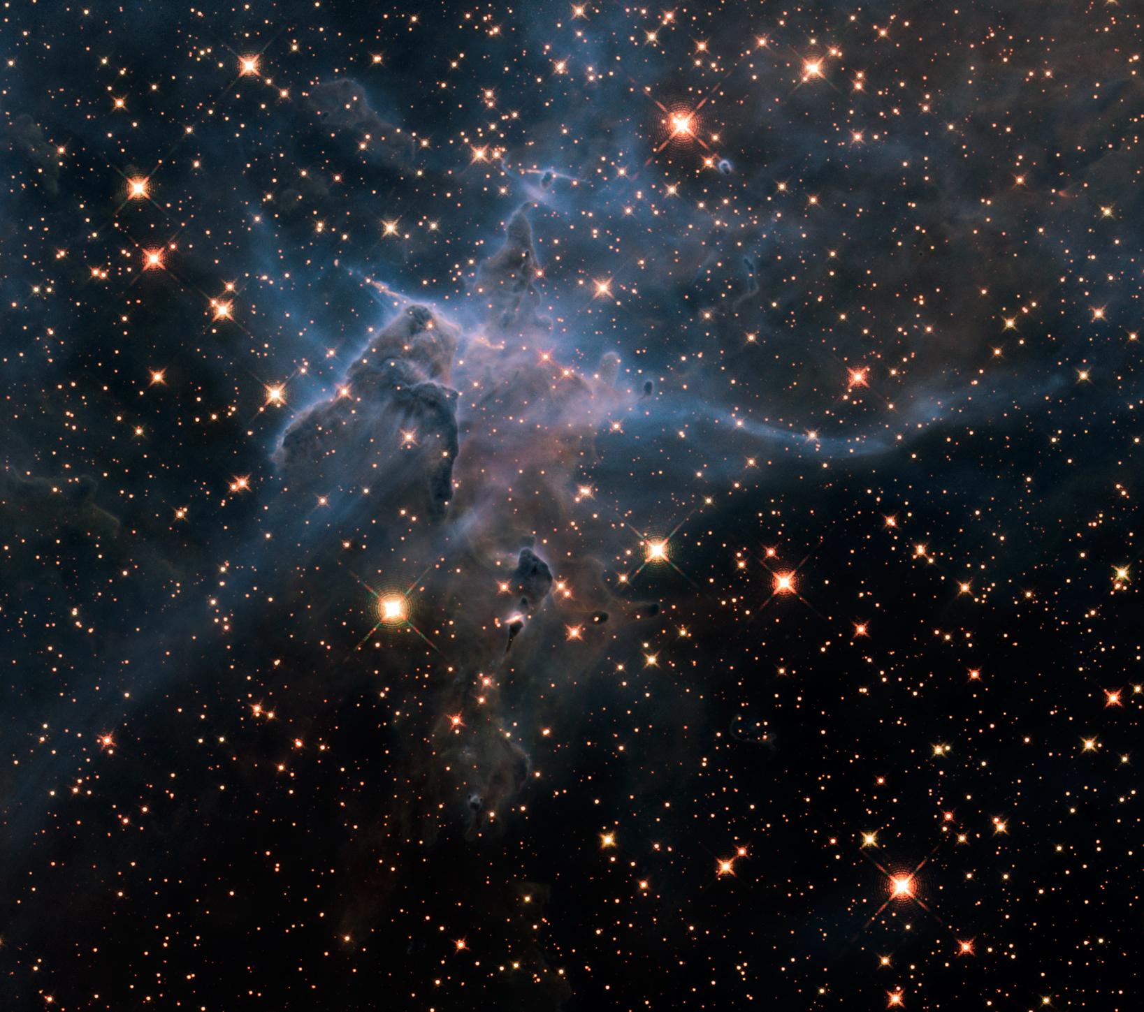 Tak wygląda mapa wszechświata, która została wykonana za pomocą 570-megapikselowego aparatu cyfrowego