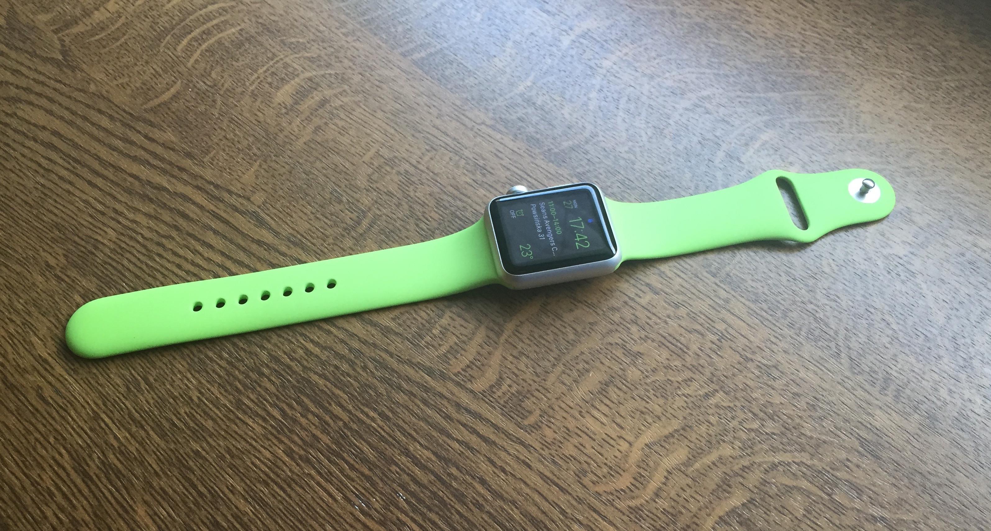 Apple Watch Sport 38 mm na chłodno trzeciego dnia, czyli wstępna recenzja Spider's Web
