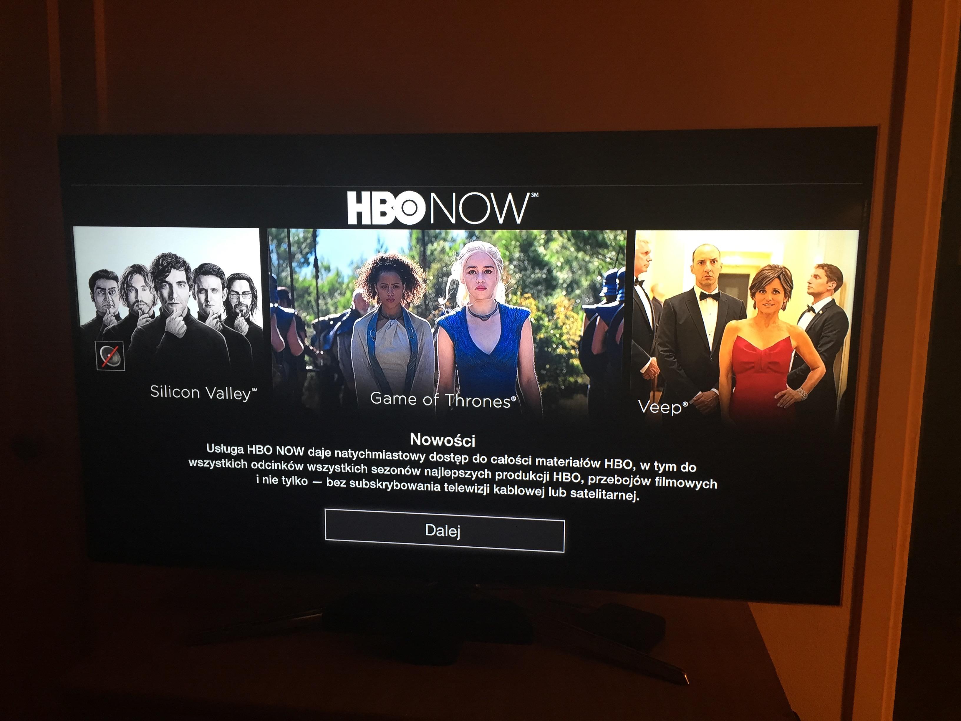 HBO Now, czyli nowe VOD dla posiadaczy urządzeń Apple zdało pierwszy egzamin