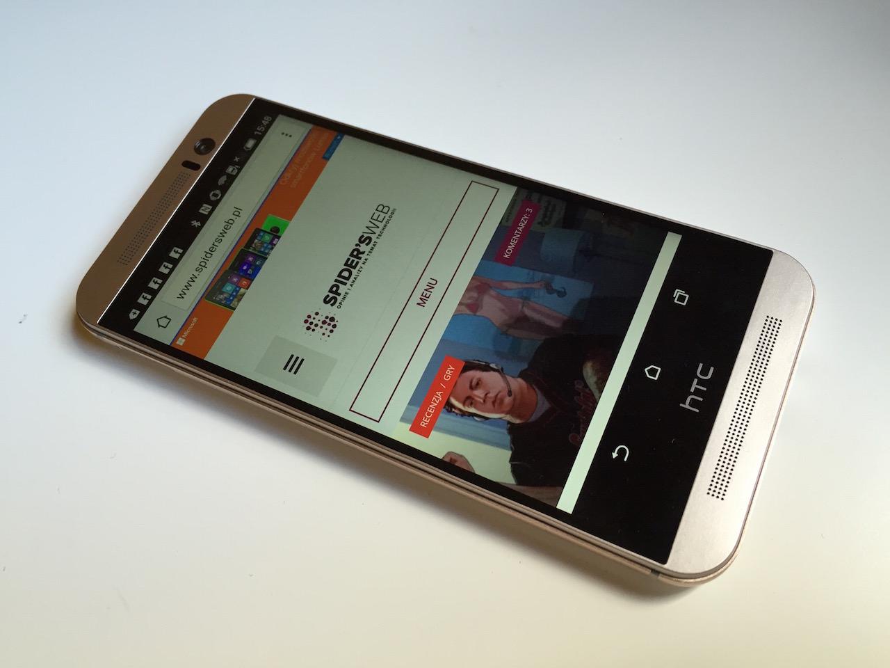Świetny smartfon, któremu brakuje pazura. HTC One M9 – recenzja Spider's Web