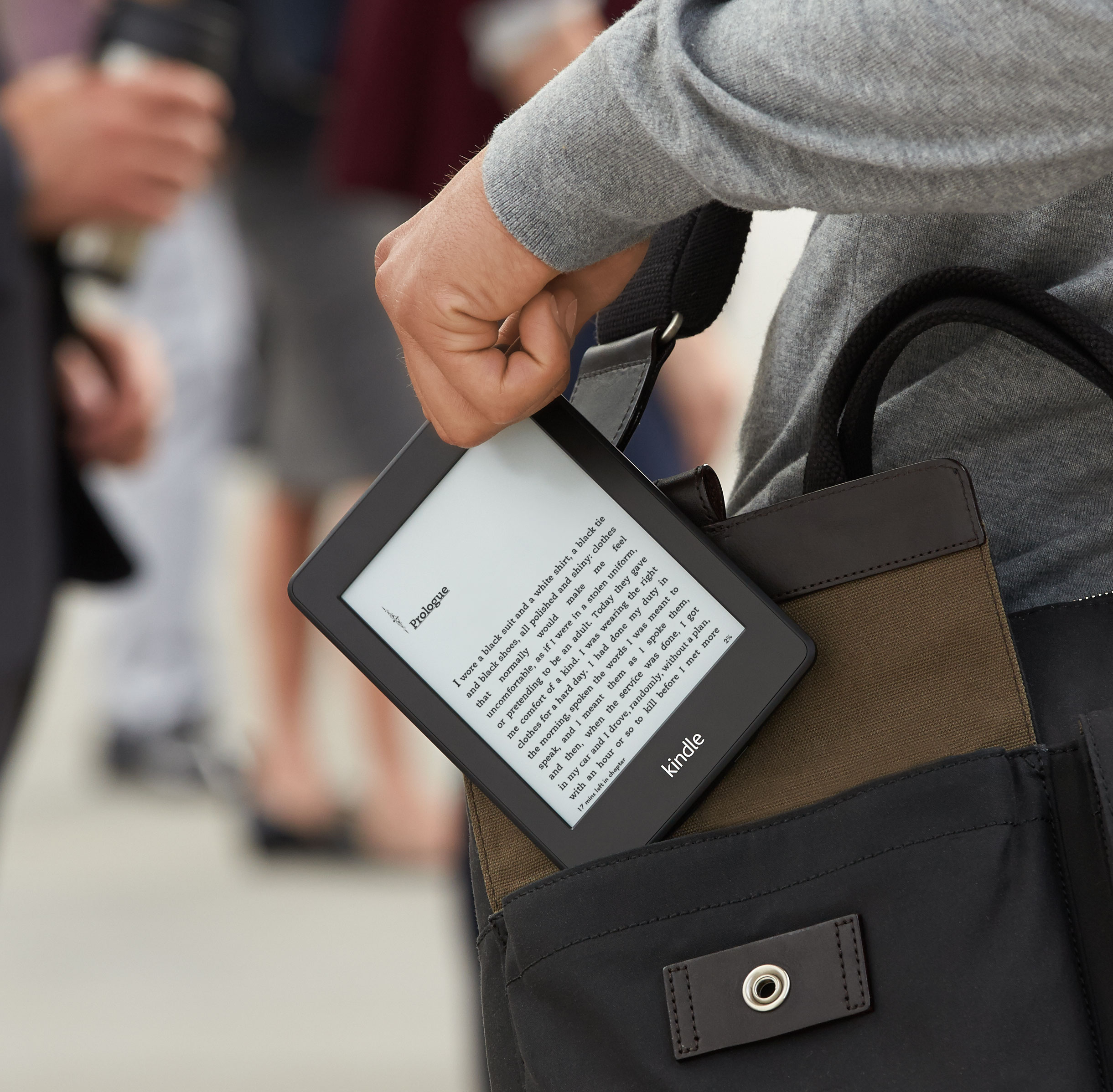 Amazon policzy ile stron czytasz na Kindle'u i ma ku temu dobry powód