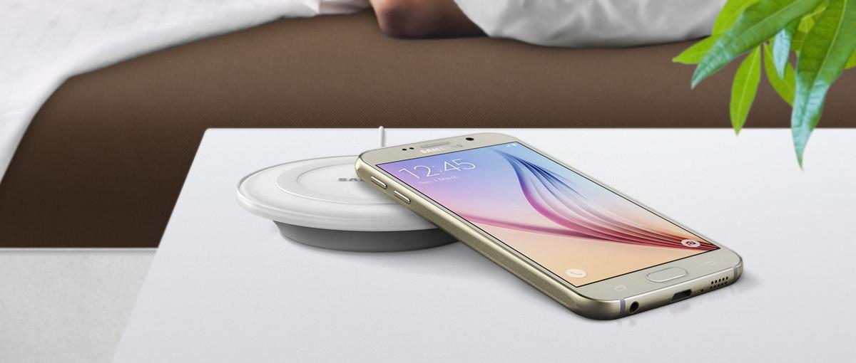 Bez kabli jest lepiej! Wygraj smartfon Samsung Galaxy S6 z bezprzewodową ładowarką