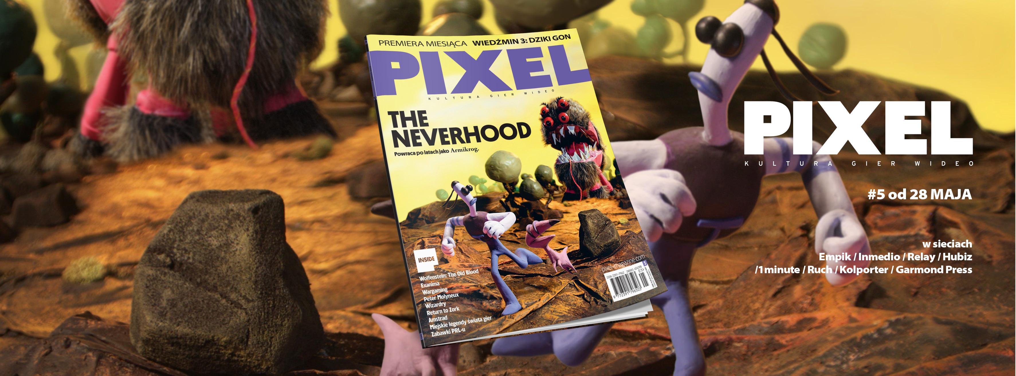 Pixel – największe wydarzenie w polskiej prasie o grach w przededniu jej upadku