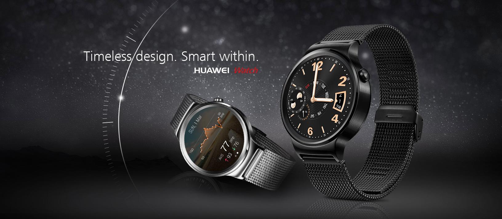 Najtańsza wersja Huawei Watcha w cenie Apple Watcha Sport, ale… są też droższe opcje
