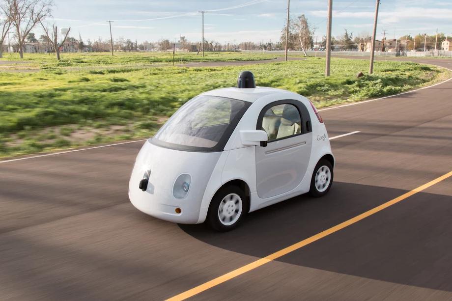 samochód google auto google