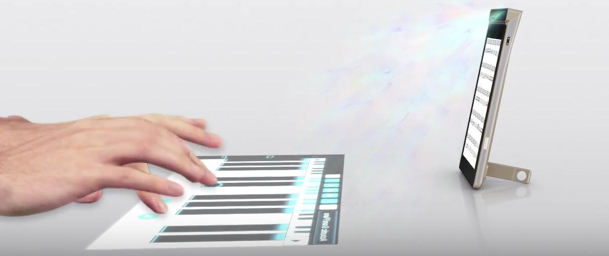 Dla nowych smartfonów Lenovo każda powierzchnia będzie klawiaturą