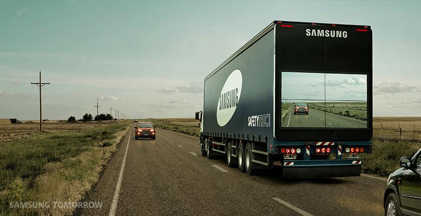 Brawo Samsung! Oto jak sprawić, żeby wyprzedzanie przestało być niebezpieczne