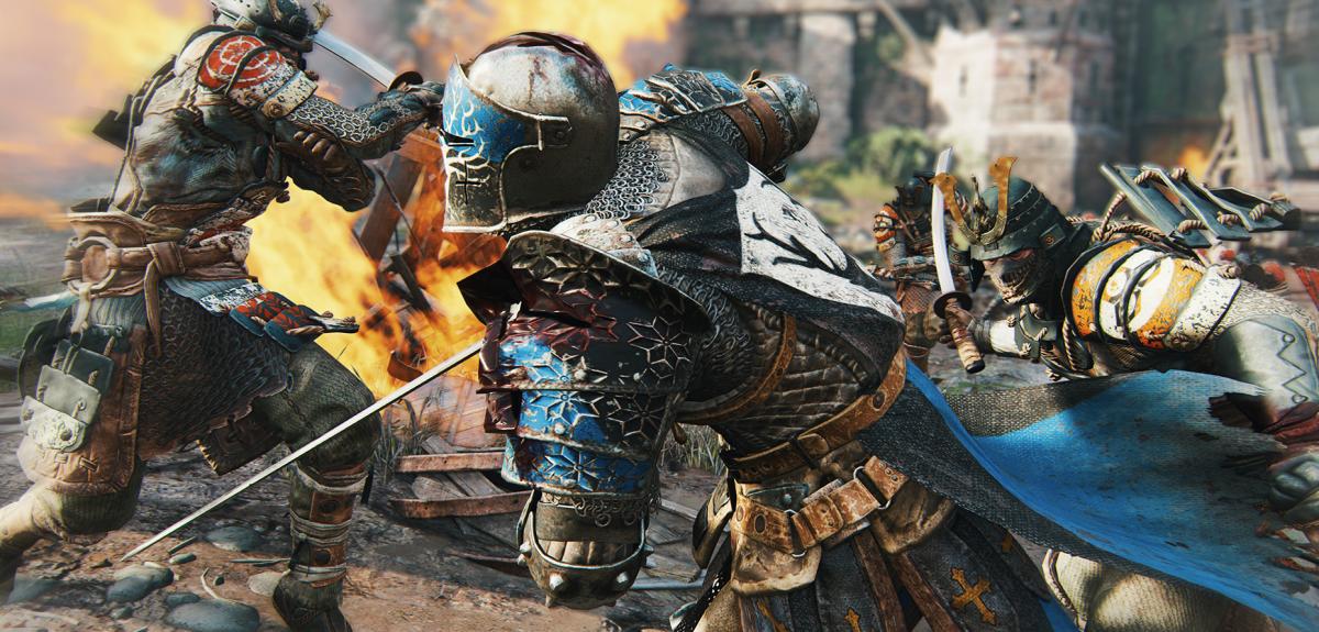 E3: Ubisoft zaskakuje. For Honor może być pierwszągrąmultiplayer, w którąsięwciągnę