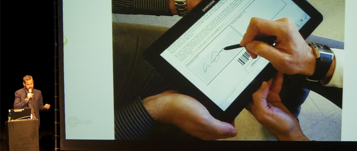 Podpis odręczny, ale cyfrowo i firma bez kartki papieru, czyli pomysły Billennium Paperless – relacja Spider's Web