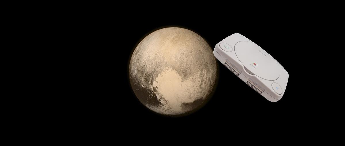 Tajemnice Plutona odkrywamy dzięki sukcesowi PlayStation