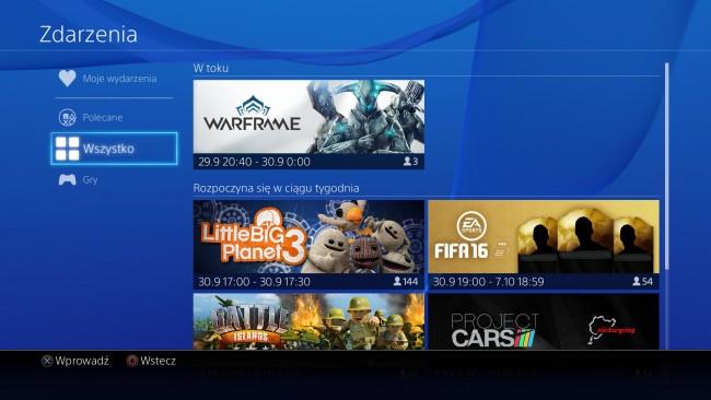 PlayStation 4 aktualizacja 3.0