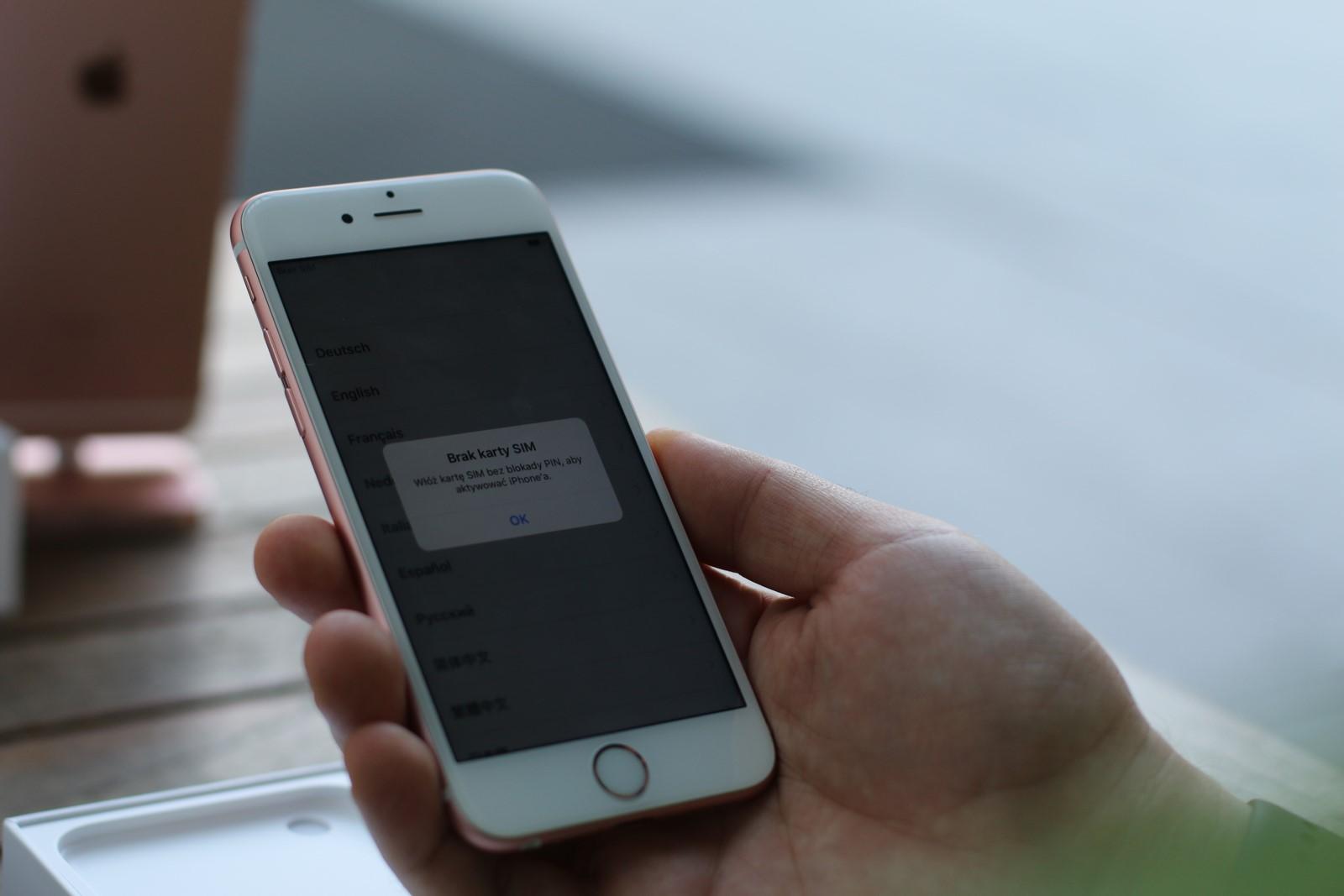 Iphone 6s Plus Sim Karte.Iphone 6s I 6s Plus Debiutuja W Polsce Poznaj Oficjalne Ceny
