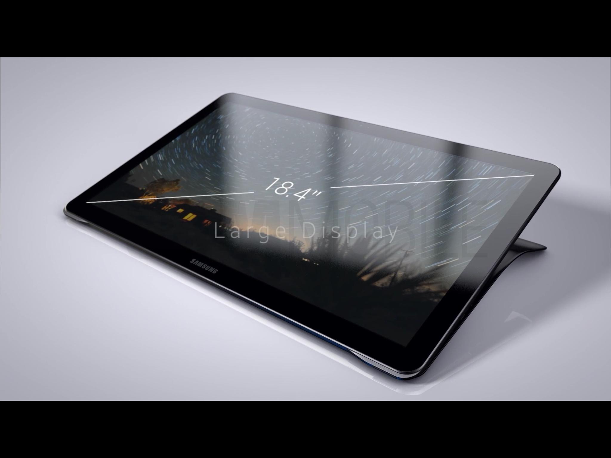 """Nie, 18-calowy Samsung Galaxy View nie będzie tabletem """"Pro"""""""