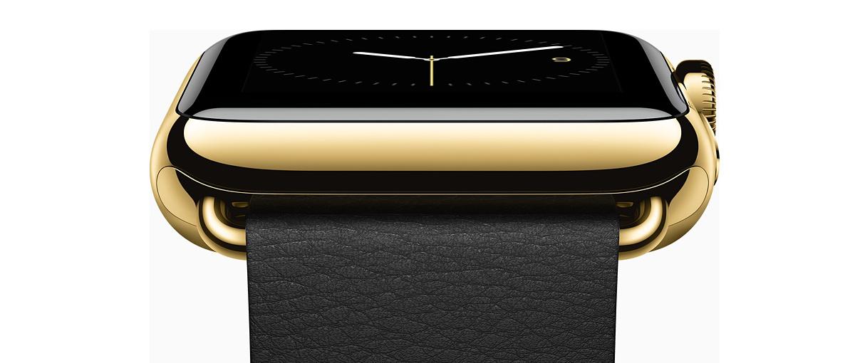 Złoty smartwatch, czyli Apple wprowadza zegarek w XXI wiek