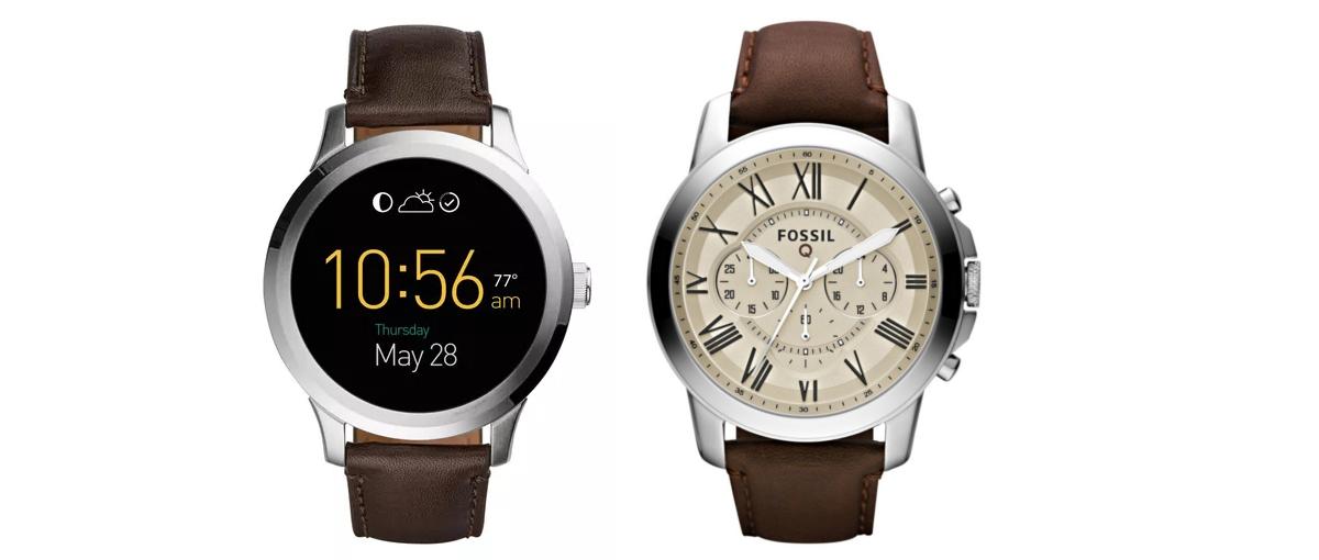 Tak powinny wyglądać inteligentne zegarki – oto Fossil Q Grant oraz Q Founder z Androidem Wear
