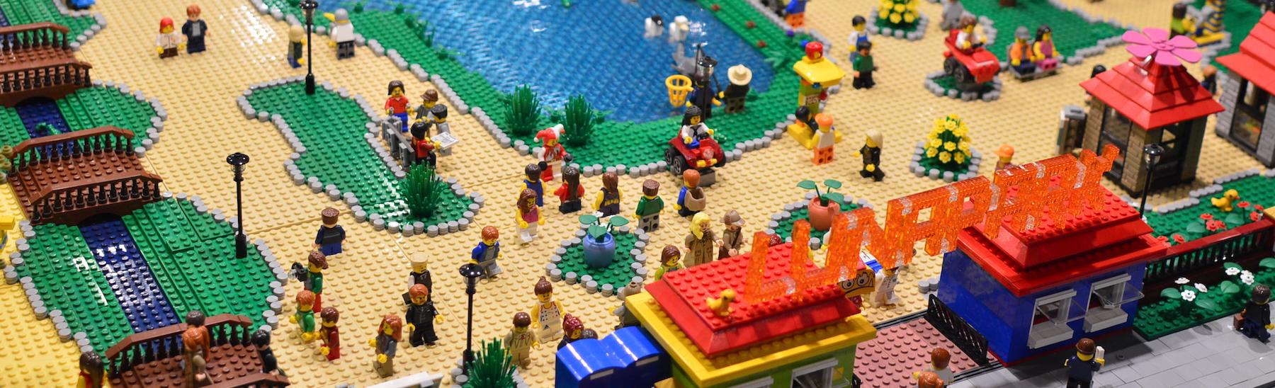 Największa w Polsce edukacyjna wystawa budowli z klocków Lego – galeria Spider's Web