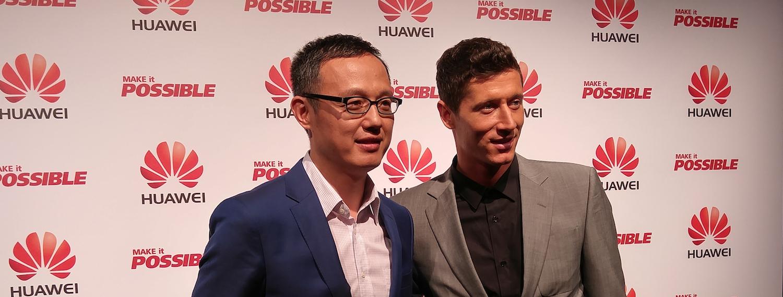 Historia Roberta Lewandowskiego opowiada historię naszej firmy – mówi nam Wang Yanming z Huawei