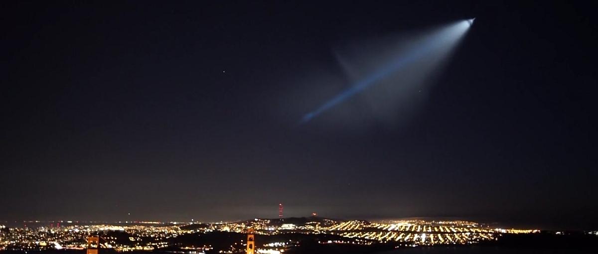 Szczęście fotografa: nagrywał timelapse i trafił na… start rakiety balistycznej