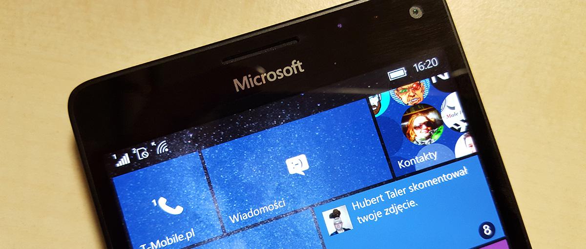 Lumia 950 XL to cudowny telefon z dwiema poważnymi wadami – recenzja Spider's Web