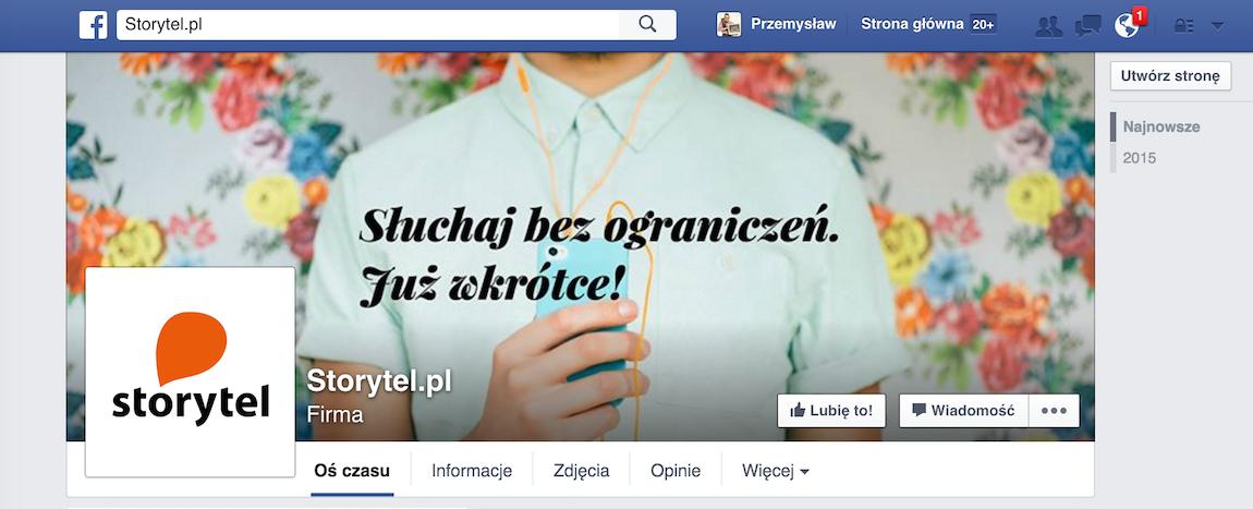Storytel, czyli audiobooki i ebooki w abonamencie, wchodzi do Polski! Już są na Facebooku