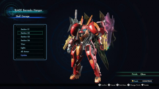 Xenoblade Chronicles X mech