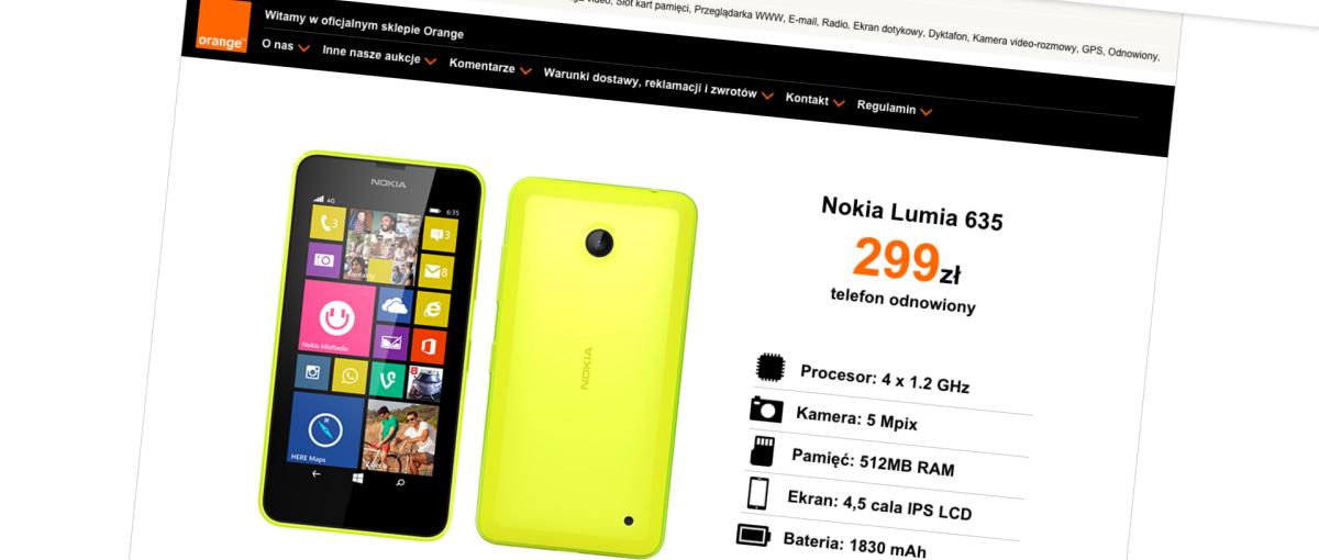 Na Allegro właśnie pojawił się pewny sprzedawca niedrogich smartfonów. To… sieć Orange