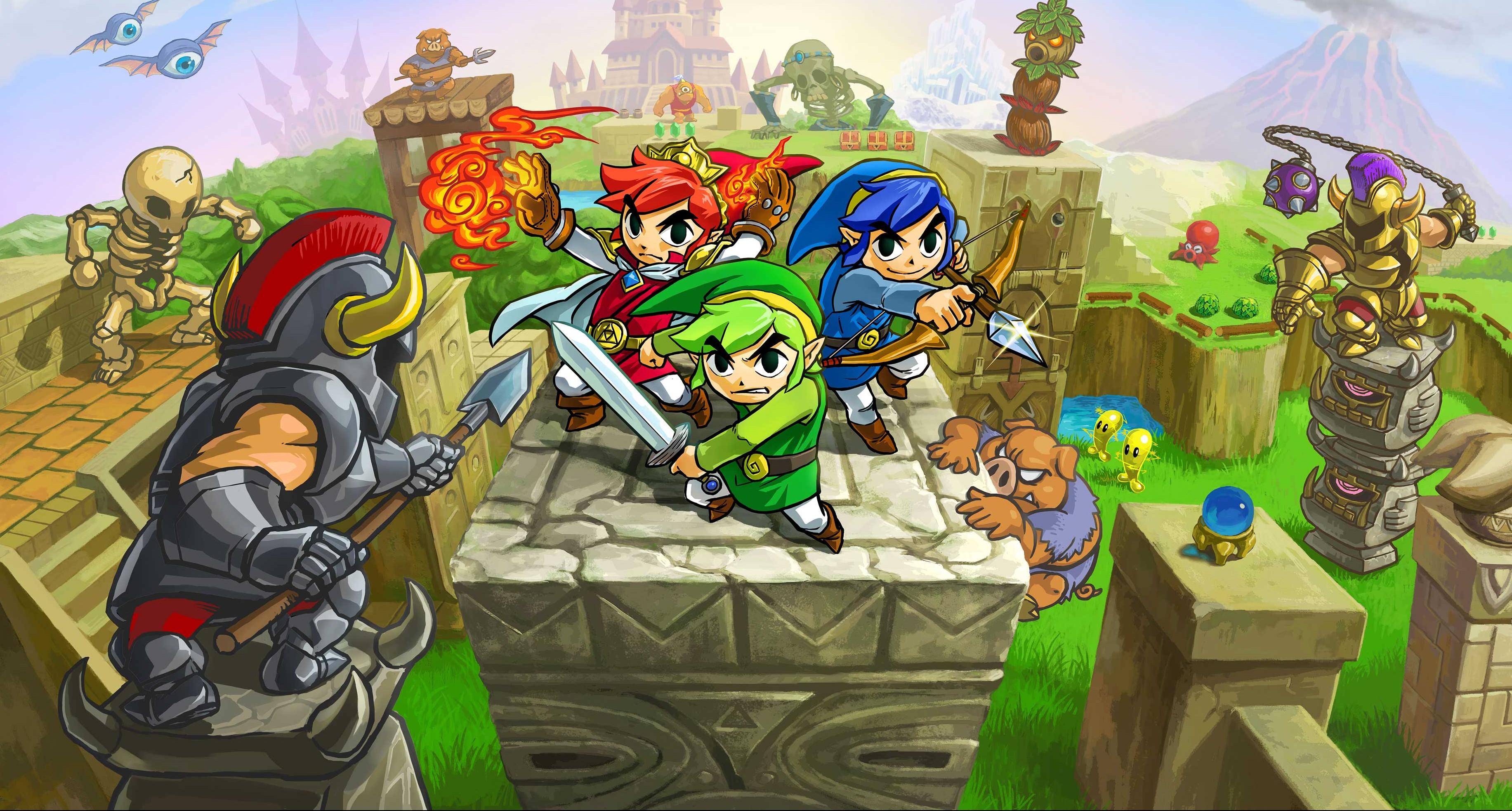 Jednocześnie najlepsza i najgorsza gra 3DS-a tego roku. Legend of Zelda: Tri Force Heroes – recenzja Spider's Web