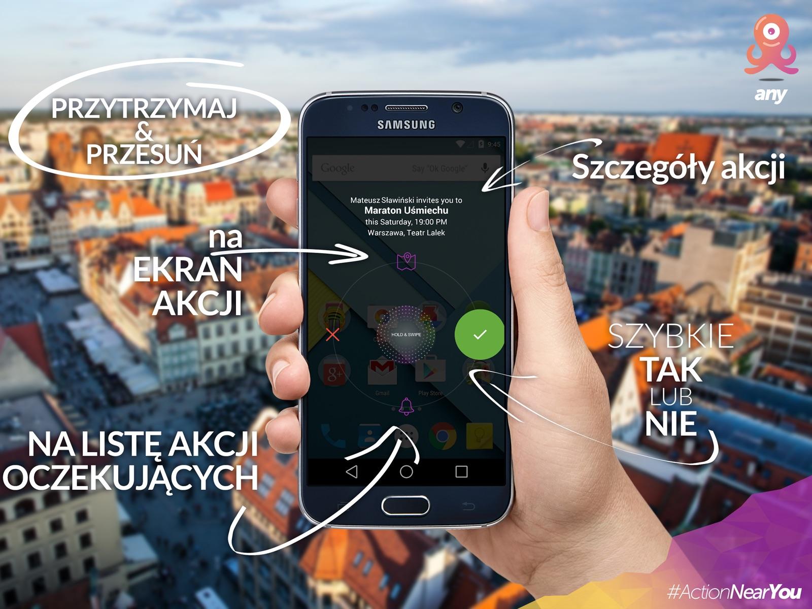 aplikacja do łączenia znajomych opowieści o podłączeniu do gimnazjum